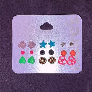 Claire's Jewelry - Claire's Set of 9 Sensitive Solutions Earrings